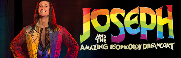 Joseph and The Technicolor Dreamcoat Banner