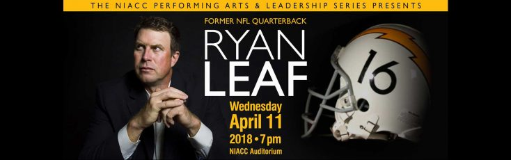 Picture of speaker Ryan Leaf, Former NFL Quaterback
