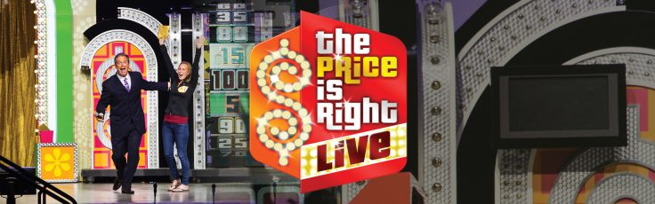 Graphic of The Price is Right LIVE