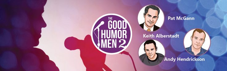 Graphic for the comedy group Good Humor Men
