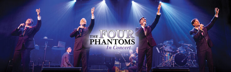Picture of music group The Four Phantoms In Concert