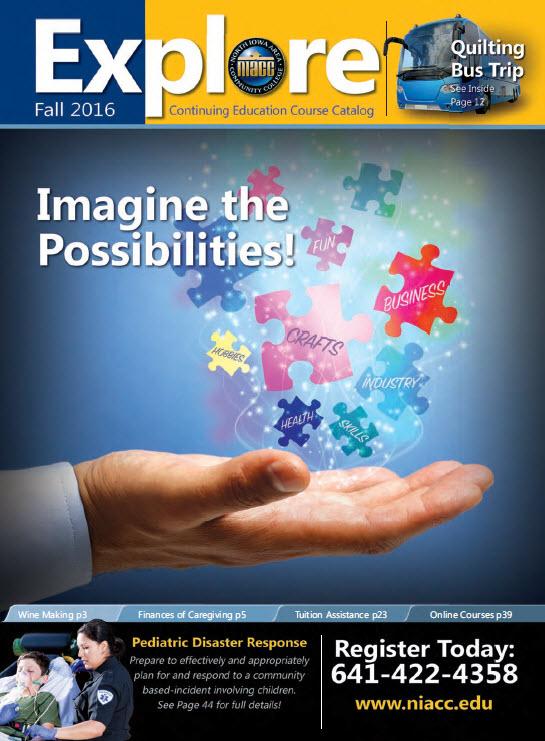 Fall 2016 Explore Cover