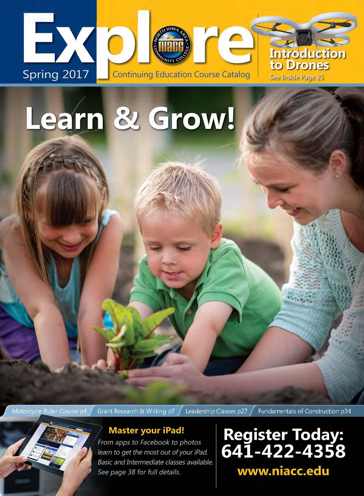 Spring 2017 Explore Cover