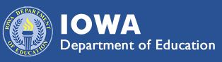 Picture of Iowa Department of Education Logo
