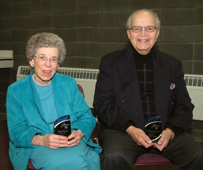 Picture of Phyllis Murphy and Dr. Meredith Saunders