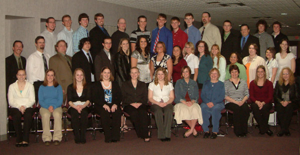 Picture of Student Leaders 2008