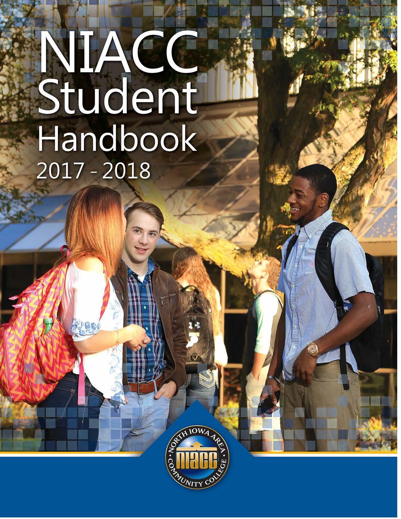 Student Handbook cover 2017