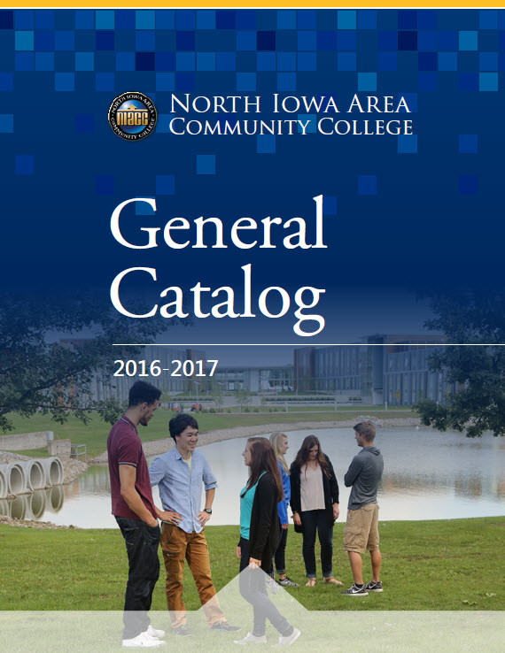 Picure of NIACC College Catalog Cover 2016-2017