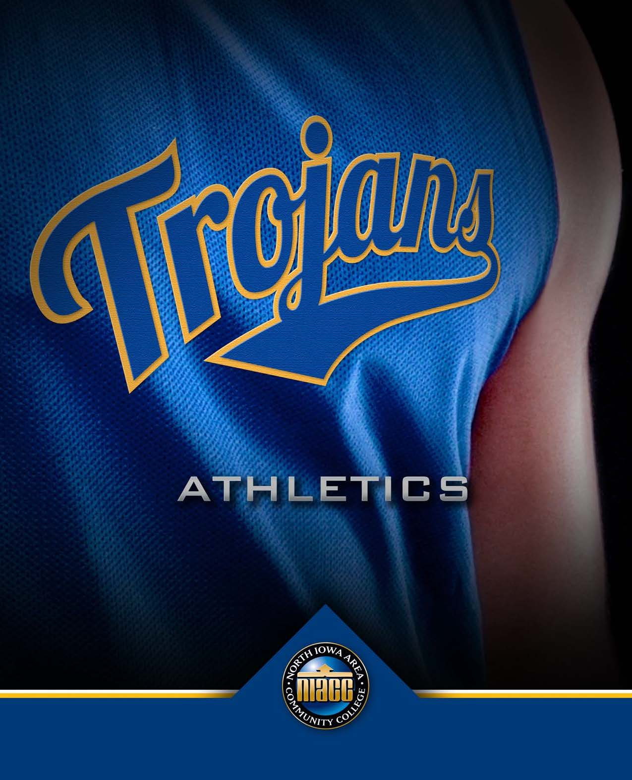 Cover of the 2019 Athletics Brochure