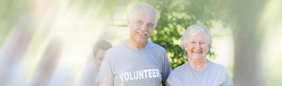 Picture of elderly volunteering for RSVP