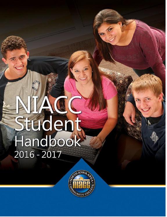 Student Handbook cover 2016