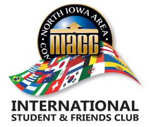 Logo for the International Students & Friends Club