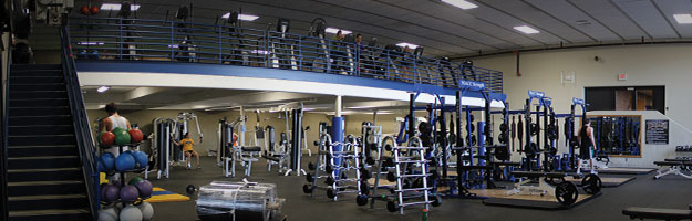 Fitness center north iowa area community college