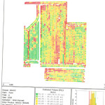 Picture of Yield Map Field 4 - 2004