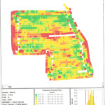 Picture of Yield Map Field 6 - 2004
