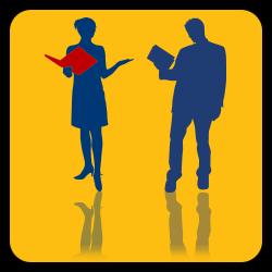 Graphic icon for Educators button