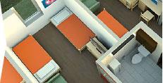 Campus View Housing Complex - Double Suite
