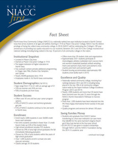 Picture of NIACC Fact Sheet Cover