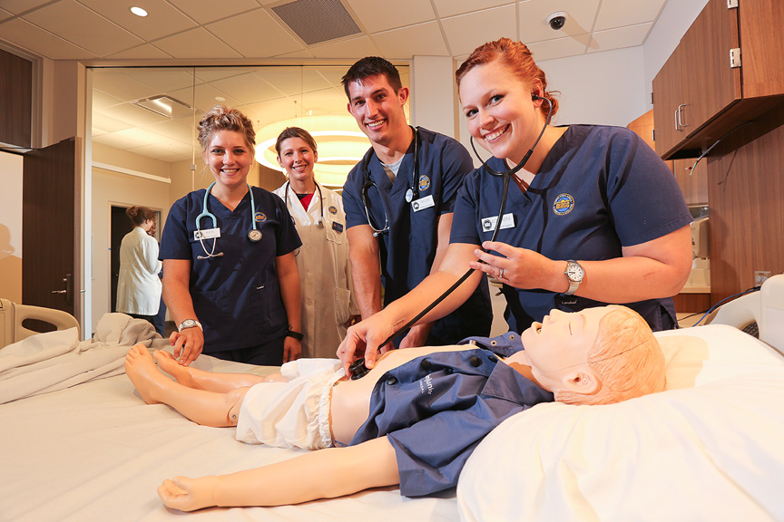 Nursing Station - Health Simulation Center
