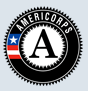 Graphic logo for AmeriCorps