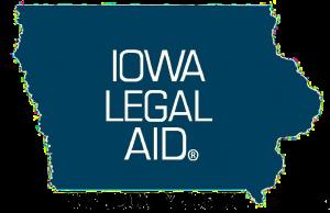 Graphic logo for Iowa Legal Aid