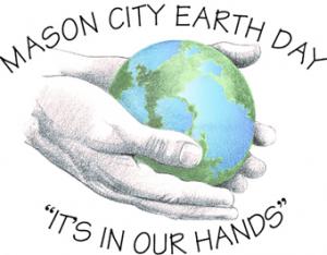 Graphic logo for Mason City Earth Day
