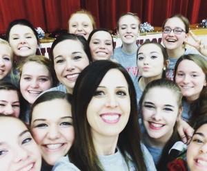 Newman Dance Team 1