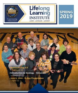 Lifelong Learning Institute Spring 2019 Cover