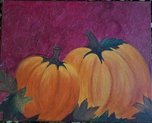 Painting of Pumpkins