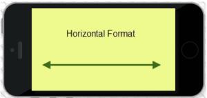 horizontal-phone-video format
