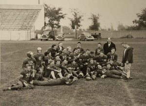 Picture of the 1938 Football Team