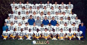 Picture of the 1990 Football Team - Bowl game