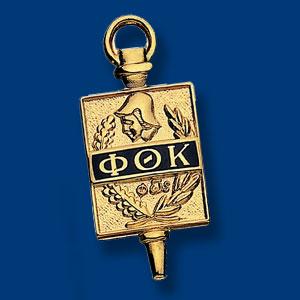 Picture of a Phi Theta Kappa pin