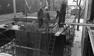 Picture of the Construction of the NIACC Library