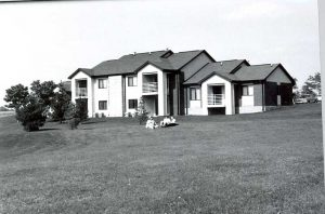 Picture of NIACC's first Student Apartment