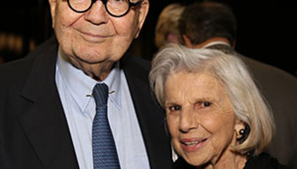 Picture of John & Mary Pappajohn at the Entrepreneur Gala