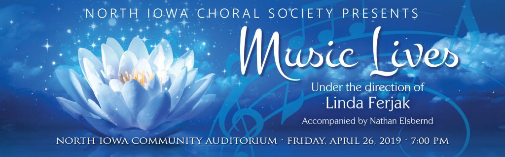 Graphic for the 2019 Spring Choral Society Concert