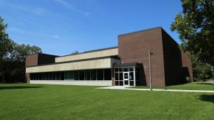 Photo of the exterior of the Beem Center Building