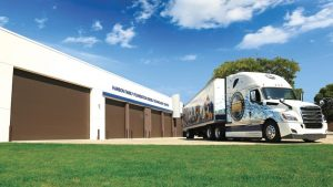 Photo of the exterior of the Diesel Technology Center