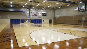 Photo of the NIACC Basketball court