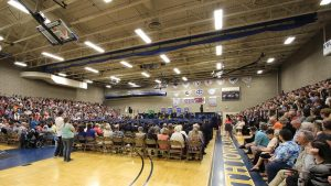 Photo of NIACC Graduation ceremony