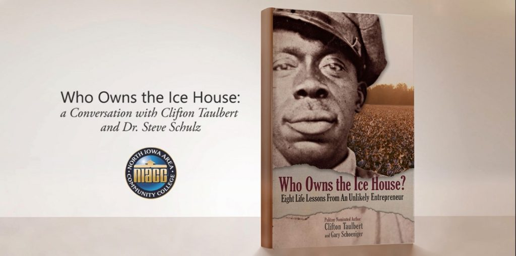 Book cover of Who Owns the Ice House? - Clifton Taulbert