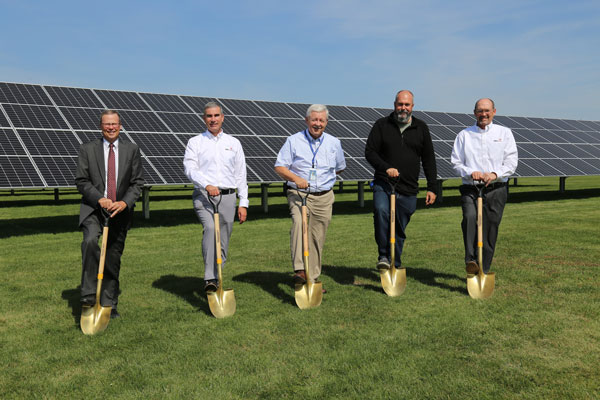 Photo of Solar Project Groundbreaking