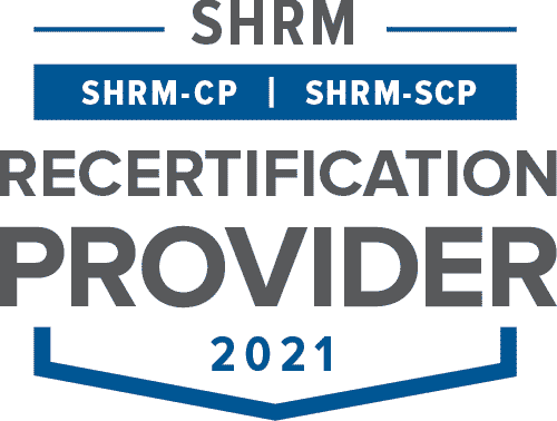 Graphic image of the Society for Human Resource Management Recertification Logo